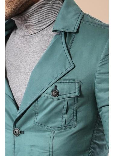 Wessi Trençkot Yeşil